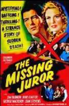 The Missing Juror 1944 DVD - Jim Bannon / Janis Carter